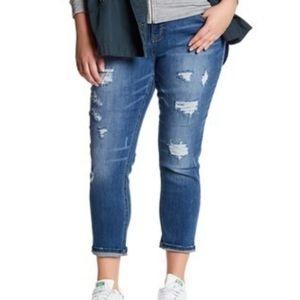 Women's plus size 16 Distressed Jeans